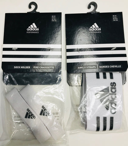Adidas Sock Holder & Ankle Straps white set Famous Rock Shop Newcastle NSW Australia