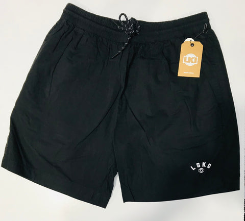LKI Daily Beach Short Black L106B1012 Famous Rock Shop Newcastle 2300 NSW Australia