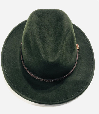 Avenel Crushable Water Repellent Wool Felt Safari Hat DF47 Olive Famous Rock Shop Newcastle NSW Australia