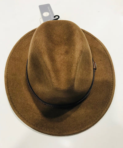 Avenel Crushable Water Repellent Wool Felt Safari Hat DF47 Pecan Famous Rock Shop Newcastle NSW Australia