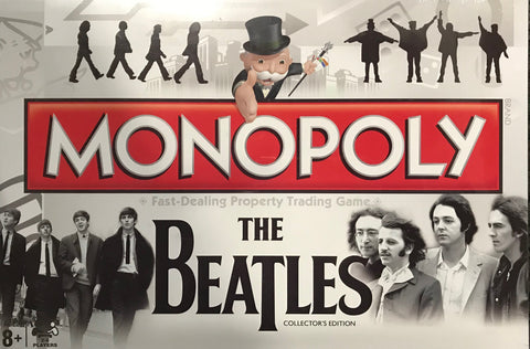 Beatles Monopoly Fast Dealing Property Trading Game Famous Rock Shop Newcastle NSW Australia
