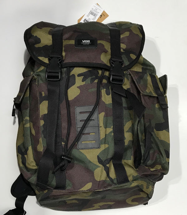 Vans Backpack CAMO VNOA2X2Y971 Famous Rock Shop Newcastle NSW Australia