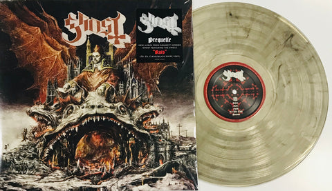 Ghost Prequelle LVR00390 LTD EDITION Indie Exclusive Clear Black Swirl LP Vinyl Famous Rock Shop Newcastle 2300 NSW Australia