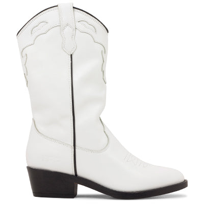 Roc Boots INDIO White Vintage Boots
