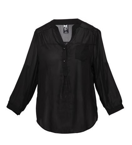 Iron Fist Spineless Blouse Black