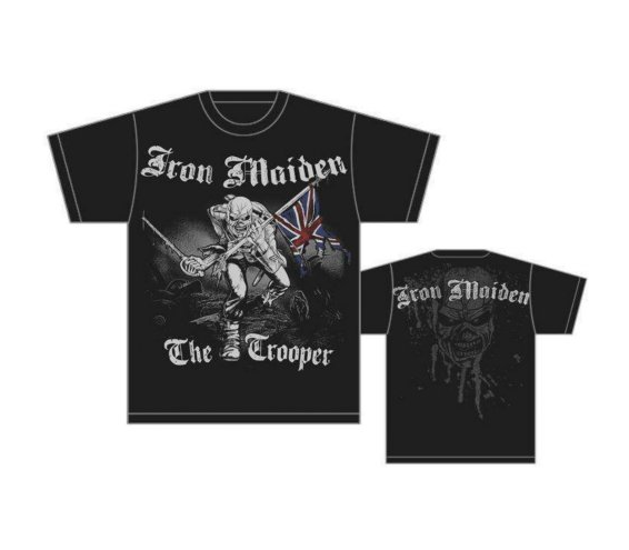 Iron Maiden - Sketched Trooper Unisex Tee T-Shirt