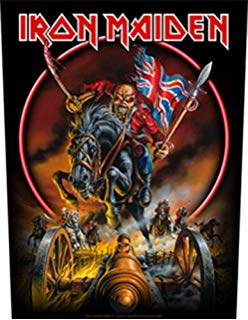 Iron Maiden Back Patch Famous Rock Shop Newcastle, 2300 NSW. Australia. 1