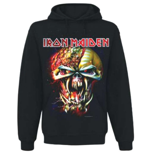Iron Maiden Pullover Hoodie Final Frontier Big Head Famous Rock Shop Newcastle 2300 NSW Australia