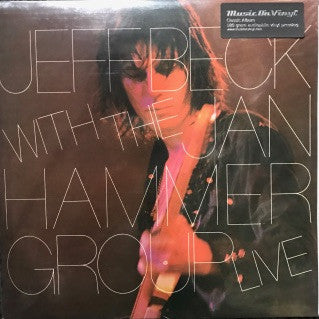 Jeff Beck with the Jan Hammers Live (Vinyl)