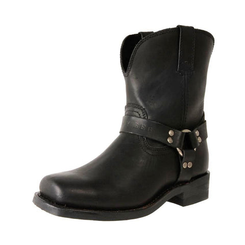 Jenny Reb Bounty Black Leather Boots JR28241