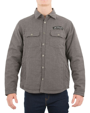 JetPilot Battle Men Jacket W18724 Grey Famous Rock Shop Newcastle NSW Australia