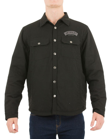 JetPilot Battle Men's Jacket W18724 Black Famous Rock Shop Newcastle NSW Australia
