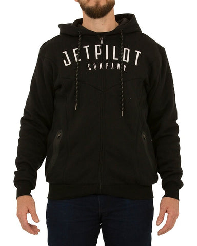 Jetpilot Hole Shot Mens W18710 Black Black Fleece Famous Rock Shop Newcastle NSW Australia