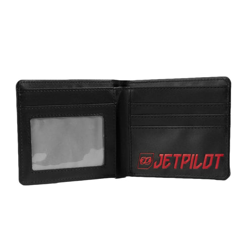 Jetpilot Cause PU Wallet Black Red ACS16332