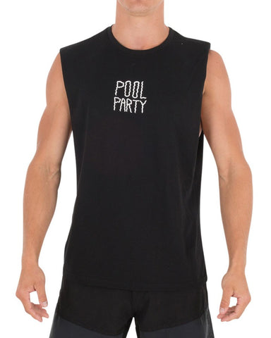 Jetpilot Pool Party Men's Muscle Black