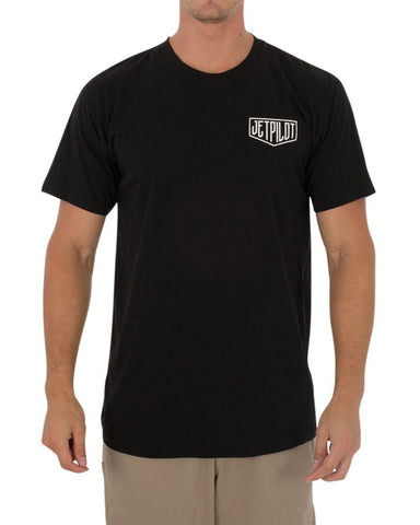 Jetpilot Rolled Men's Tee Black