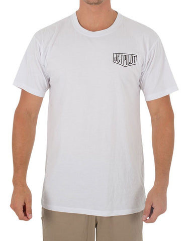 Jetpilot Rolled Men's Tee White