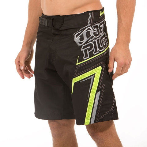 Jetpilot Vortex 2S15 Men's Boardshort Black Lime 2S15905