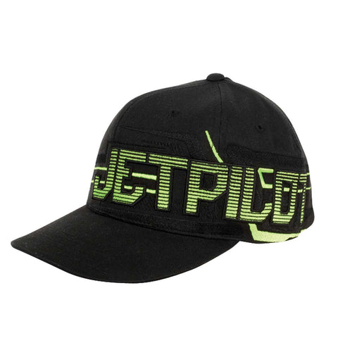 Jetpilot Vortex W16 Flexfit Men's Cap Black/Green W16800