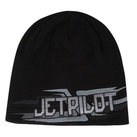 Jetpilot Vortex W16 Men's Beanies Black/White W16809