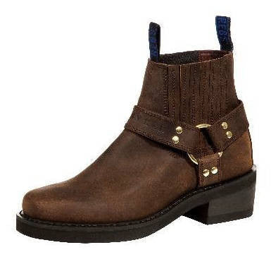 Johnny Reb Classic Short Brown Leather Boots JR20000