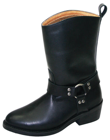 Johnny Reb Jenny Reb Women's Classic 2 Black Leather Boots JR28276