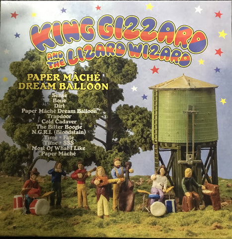 KING GIZZARD AND THE LIZARD WIZARD PAPER MACHE DREAM BALLOON LP VINYL