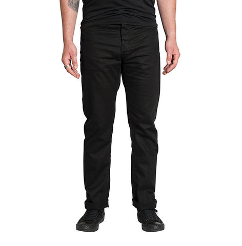 KR3W K Slim 5 Pocket Black Pant K45549