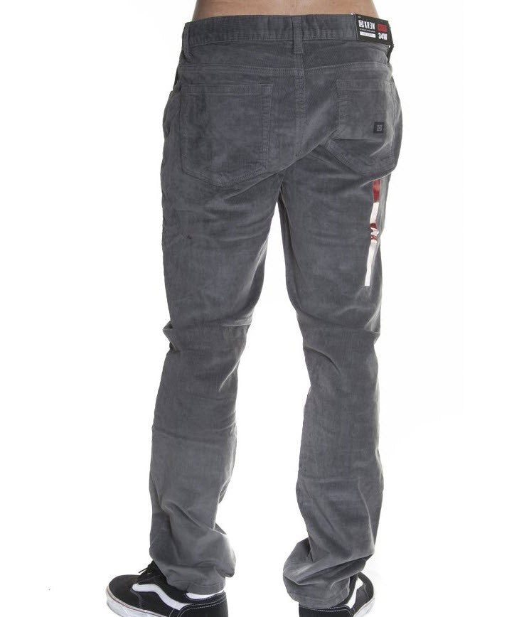 KREW K Slim 5 Pocket Charcoal Grey Pant K45600