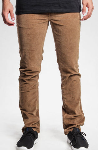 KREW K Slim 5 Pocket Denim Jeans Coffee K4731410