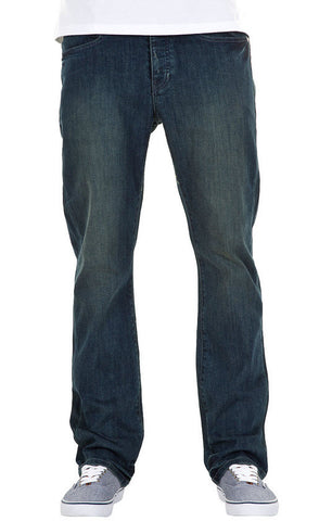KR3W Klassic Denim Jeans Worn Blue K45656