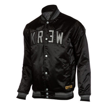KREW Thrasher Jacket Black