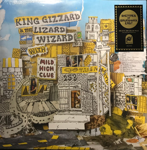 King Gizzard & The Lizard Wizard With Mild High Club Sketches Of Brunswick Fast Vinyl LP Famous Rock Shop Newcastle 2300 NSW Australia