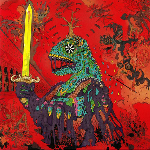 King Gizzard and the Lizard Wizard 12 Bar Bruise 12 Bar Bruise is the first full length album by King Gizzard and the Lizard Wizard. Originally released on September 7th 2012 & limited to 500 hand numbered copies on red speckled vinyl. It has never been reissued or repressed. INDIE RECORD STORE EDITION Green Colour Famous Rock Shop Newcastle 2300 NSW Australia
