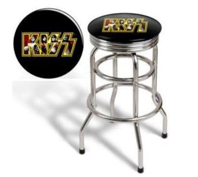 Kiss Bar Stool  Phone Famous Rock Shop Newcastle NSW Australia