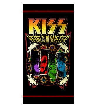 KISS Jumbo Beach Towel 002