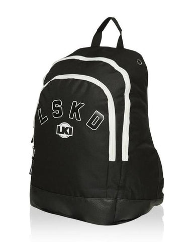 LKI Defeat Backpack Black L111A1022 LKI Black Defeat Backpack Famous Rock Shop Newcastle 2300 NSW Australia