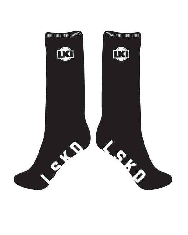 LKI Demo Crew Sock - 5 Pack  L115B1006 black