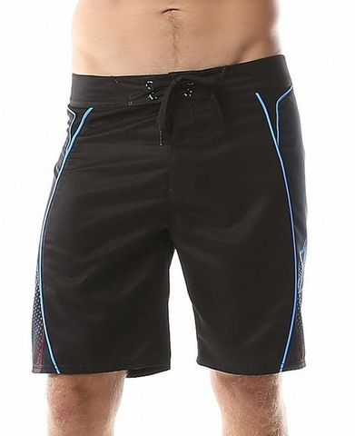 LKI Paragon Boardshorts Black Blue L106A1026  Mens LKI 20' Boardshort   Famous Rock Shop Newcastle, 2300 NSW Australia