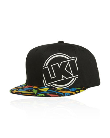 LKI Youth Sector Cap Black Multi L308D1041