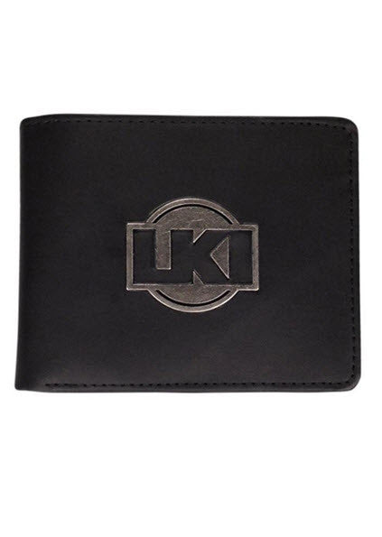 LKI Notorious Leather Wallet Black L112B1001