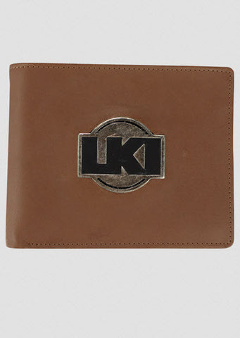 LKI Notorious Leather Wallet Tan L112B1001