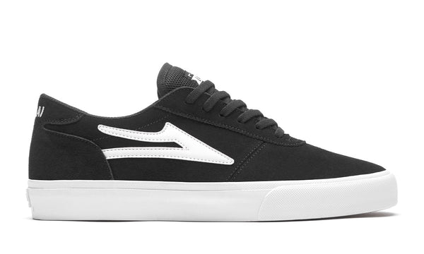 Lakai Manchester Black Suede Skate Shoes MS1200200A00