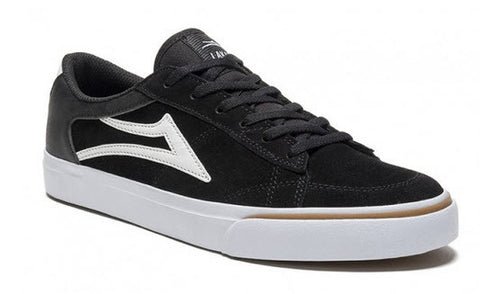 Lakai Ellis Black White Suede