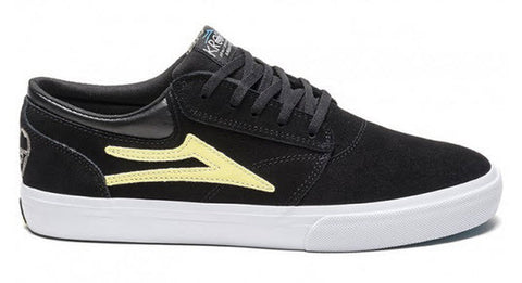 Lakai Griffin Black Yellow Suede