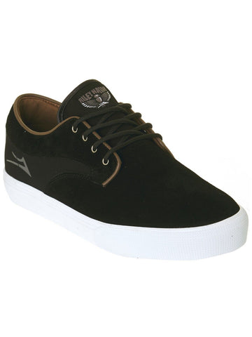 Lakai RILEY HAWKE skate shoe Black suede