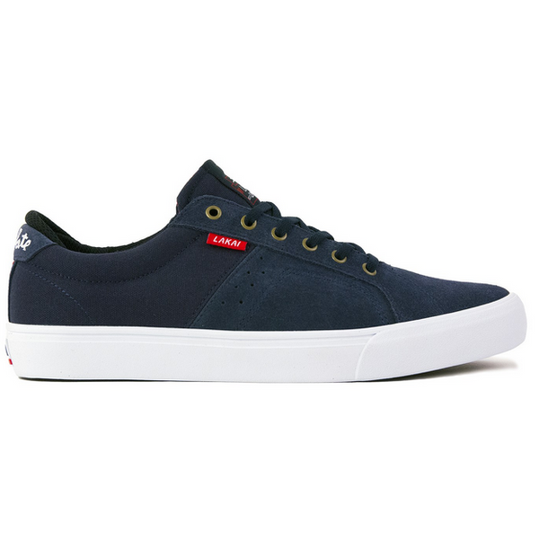 Lakai x Chocolate Skateboards Flaco Pro Skate Shoe - Midnight Suede