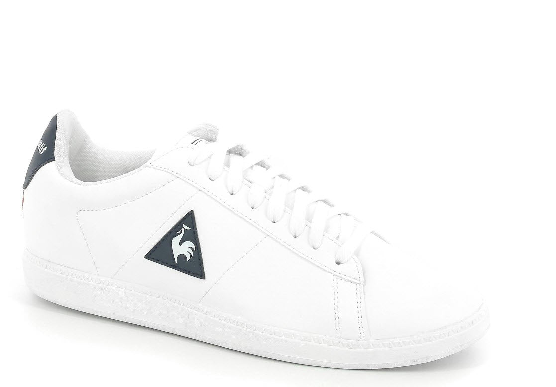 99d14ca76932 Le Coq Sportif Courtset S Lea Optical White Dress Blue 1720239 Famous Rock  Shop.
