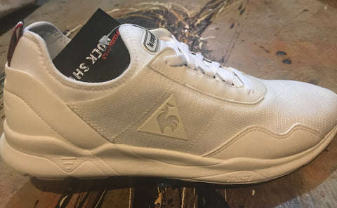 Le Coq Sportif LCSR XX Mesh Optical White Black 1720199 Famous Rock Shop Newcastle 2300 NSW Australia
