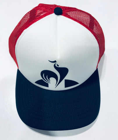 le coq sportif Classic Trucker Cap 2820691 Dress Blue & Red Famous Rock Shop Newcastle 2300 NSW Australia